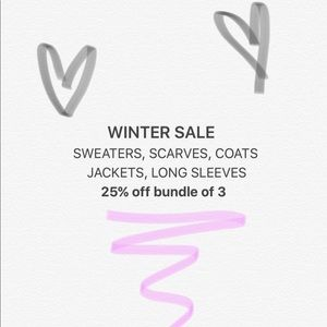 Other - ‼️HUGE WINTER SALE‼️